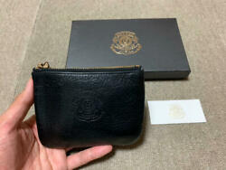 Ghurka Coin Purse Pouch No5 Black Free Shipping From Japan With Tracking K2512