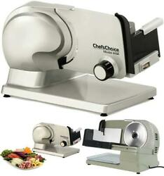 Electric Frozen Meat Slicer Commercial 120w Deli Food Easy To Clean For Chef