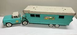 Vintage Nylint Truck And Mobile Home 6600 - 29 Long