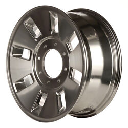 Polished 8 Vent 18x8 Factory Wheel 2008-2010 Ford Superduty