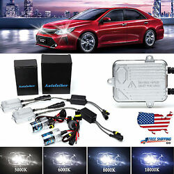 Hid Xenon Conversion Kit Hi/lo Beam 9005 H8/h9/h11 For Toyota Camry 07-15 6k 8k