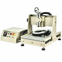 4axis Cnc 3040 Router Engraver 800w Vfd Milling Drilling Cutter 4th Rotary Axis