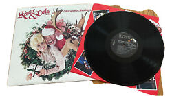 Dolly Parton And Kenny Rogers Vinyl Once Upon A Christmas Lp Record 1984 Classic