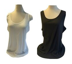 Old Navy First Layer Fitted Rib-knit Tank Top Plus Size 2x 3x Nwt