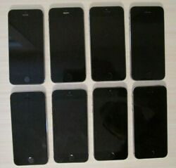 Apple Iphone 5s 16gb T-mobile A1533 Lot Of 8 Locked By Itunes, For Parts, As-is