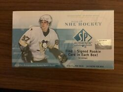 2005-06 Sp Authentic Hockey Box Sealed Crosby Ovechkin Rookie Auto