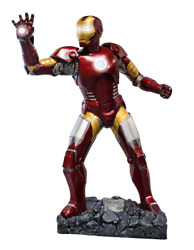 New Iron Man Life Size Statue W/ Lights 11 Scale Figurine Marvel Prop Display