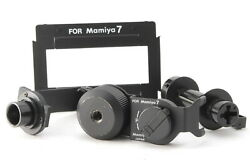 [ab- Exc] Mamiya Ad701 135 Panoramic Adapter Kit 35mm For 7 7ii From Japan 6918