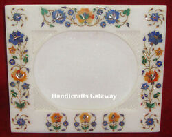 Exclusive Stone Inlay Design Decorative Photo Frame Marble Inlay Picture Frame