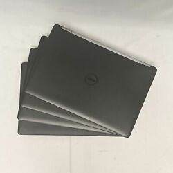 Lot Of 4 Dell Latitude E5570 15.6 Laptops W/ I7-6820hq Cpu 16gb Ram And 256gb Ssd