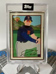 Spencer Torkelson 1989 Bowman X Keith Shore - 20 - Artist Proof /89