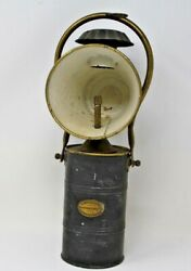 Antique W. Moyes And Sons Acetylene Engineers Glascow And Edinburgh Lamp Lantern
