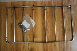 Oem Gm C3 Corvette Stainless Steel Luggage Rack Carrier Unit Trunk Never Used