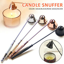 Candle Snuffer Wick Tool Stainless Steel Dipper Extinguish Trimmer Cutter