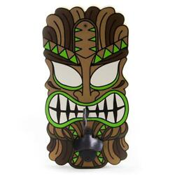 Big Kahuna Tiki Beach Tropical Theme Hook And Ring Bar Party Game W/ Bottle Opener