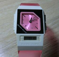 Casio G-shock Ultra-thin Film Fs-01s-4at Candy Pink Mens Wristwatch