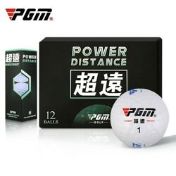 12pcs/box Golf Professional Game Ball Practice Auxiliary Putter Practial