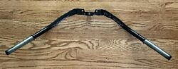 Harley-davidson 1946-1948 Big Twin 1 Springer Offset Black Handlebars