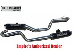 Empire Industries Dual Exhaust Yellow For 06-14 Yamaha Raptor 700