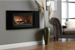 Cosy Fires - Ethos 750 Gas Fire - Chimney Wall Insert Glass Fronted 4.7kw Logs