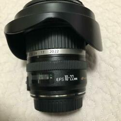 Canon Ef-s 10-22mm F3.5-4.5 Zoom Lens Camera Japan Limited F/s Mte656