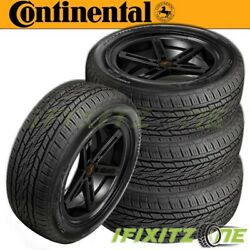 4 Continental Crosscontact Lx20 All-season Touring P275/55r20 111s Suv Cuv Tires