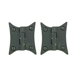 Cast Iron Butterfly Cabinet Hinge 2 3/8 H Pack Of 2