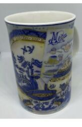 """Royal Albert Mug """"real Old Willow"""" Afternoon Tea Fine China Great Condition"""