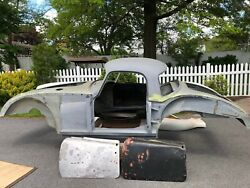 Mga Coupe Body, Coupe Specific Parts And Engine From Parts Car