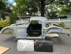 Mga Coupe Body Coupe Specific Parts And Engine From Parts Car