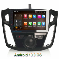9 Android 10.0 Bluetooth Car Radio Stereo Wifi Gps Sat Navi Dvr For Ford Focus