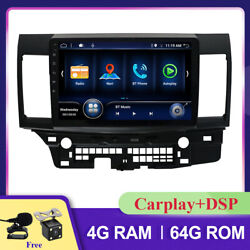 10 Android 10 Car Stereo Radio Player For Mitsubishi Lancer Dsp Wifi Gps Obd