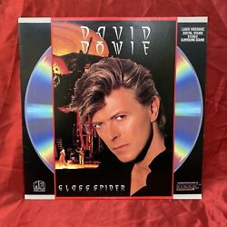 David Bowie The Glass Spider Tour 1988 Extended Play Laserdisc Ntsc