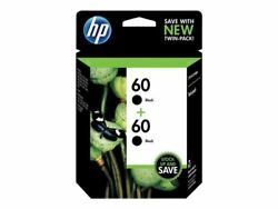Hp 60 Black Original Ink 2 Cartridges Cz071fn