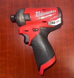 Milwaukee 2551-20 M12 Fuel Surge 1/4 Inch Hex Hydraulic Driver - Bare Tool