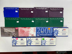 Lot Of 15 1983-2004 United States Us Mint Uncirculated Coin Sets