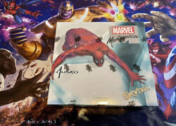 🔥2016 Upper Deck Marvel Masterpieces Factory Sealed Box🔥