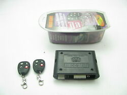 Bulldog Security Remote Vehicle Starter System With 2 Remotes 800 Ft. Range
