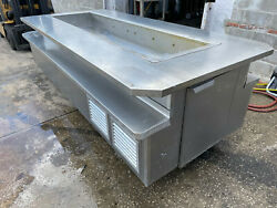 Servco 105 X 48 Stainless Island Cold Well Buffet