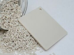 Polycarbonate Resin - Opaque - Off White - Bag 25 Lbs