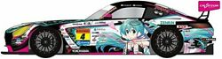 Hatsune Miku Gt Project 1/32 Good Smile Amg 2019 Super Ver. Scale Made Of Abs