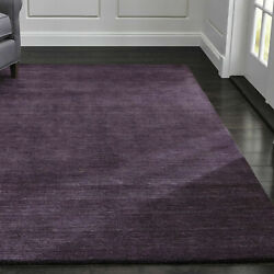 Area Rug Crate And Barrel 5x8 6x9 8x10 9x12 Baxter Plum Wool Area Rugs Carpet