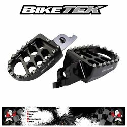 Beta Rr 2t 125 Lc 2018 - 2019 Foot Pegs Foot Rests Genuine Oe Quality Fox88blk