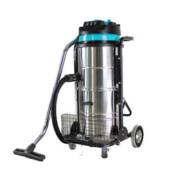 V0 220v Industrial Vacuum Cleaner Wet Dry 90l Vac Blower Stainless Steel 3000w