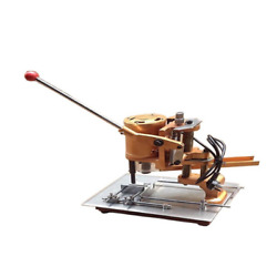 V0 110v New Electric Paper Hole Drill Punch Machine Calendar Hang Tag Puncher