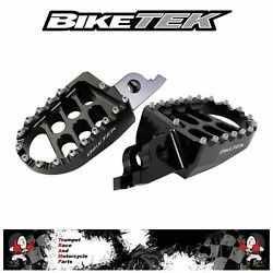 Gas Gas Xc 300 18 19 20 Foot Pegs Foot Rests Genuine Oe Quality Fox88blk