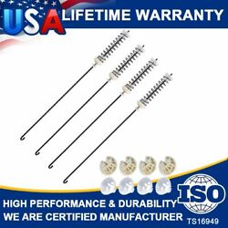 4 W10780045 W10821956 Washer Suspension Rod Kit Set For Whirlpool Kenmore