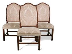 Set Of 6 Antique Period Chippendale 1780andrsquos Portuguese Dining Room Chairs - Rare