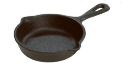 Lodge Miniature Skillet 3.5 Camping Pan Outdoors Cooking Equipment Cast Iron