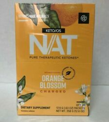 Pruvit Nat Keto//os Orange Blossom Charged 510 And 20 Packets Free Shipping